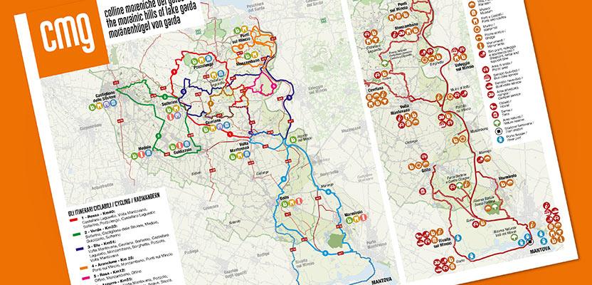 Mappa delle colline koreniche del Garda